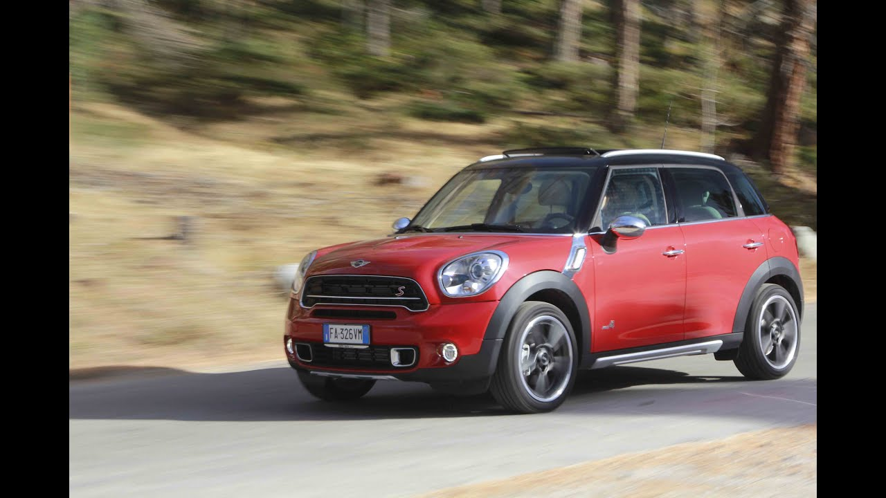 test drive mini countryman cooper s all4 vs countryman sd. Black Bedroom Furniture Sets. Home Design Ideas