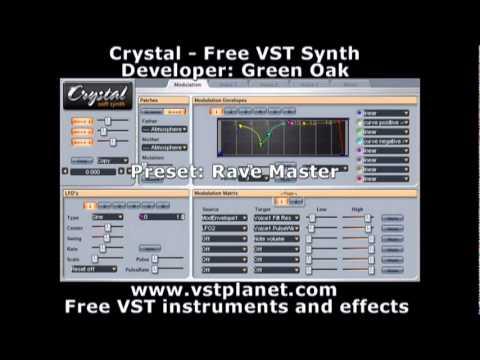 Crystal - Free VST synth - vstplanet com