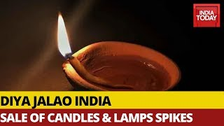 PM Modi's Diya Jalao Appeal Le…