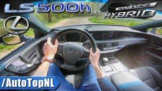 2018 Lexus LS 500h PRESIDENT 3.5 V6 AWD POV Test Drive by AutoTopNL
