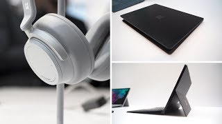Microsoft Surface Pro 6, Surface Laptop 2 & Surface Headphones Hands-on