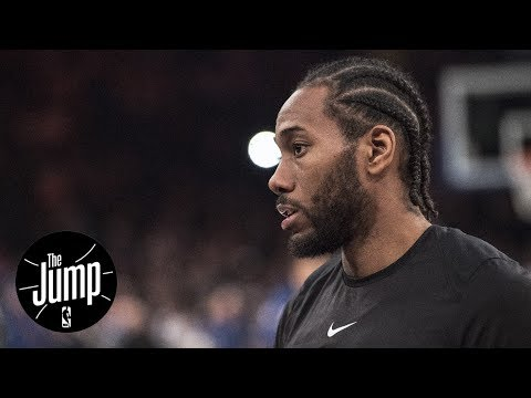 Kawhi Leonard injured again; Time to worry about Spurs? | The Jump | ESPN