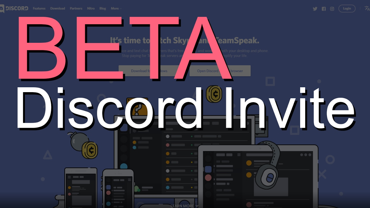 Discord Invite BETA! - Discord Invite BETA!