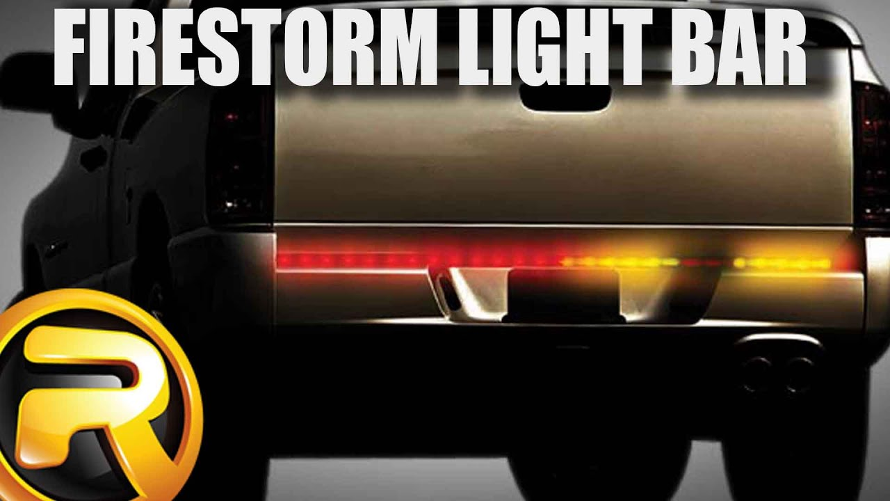 firestorm led tailgate light bar bernina sewing machine parts diagram how to install plasmaglow scanning