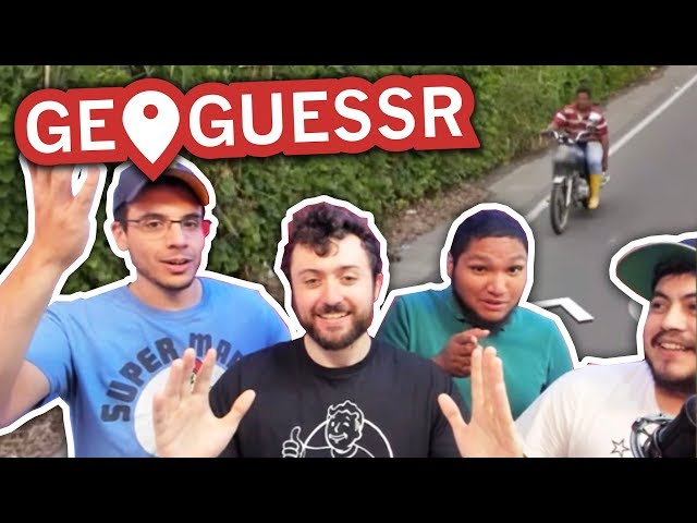 WE ARE BACK. LOST AGAIN. | GeoGuessr w/ The Derp Crew IN PERSON #10