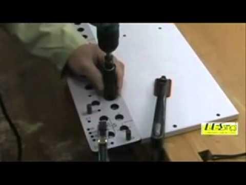 Dima per foratura universale cmt900 youtube for Dima per cerniere wurth