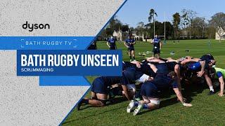 Bath Rugby Unseen   Scrummaging