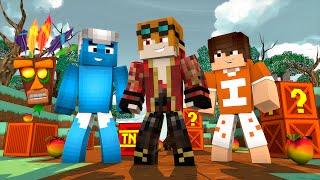 Minecraft : MINOPOLY - CRASH BANDICOOT ‹ MayconLorenz ›
