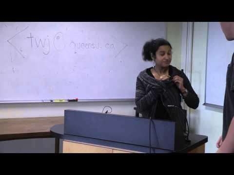 Graduate Student Presentations: Jessica Cammaert and Casey Hurrell