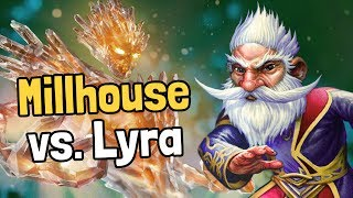 Millhouse vs. Lyra - Hearthstone