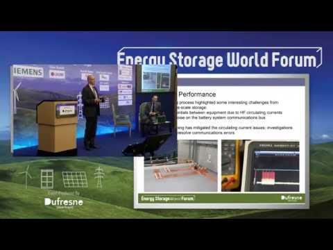 Results From 6 MW Storage Project | Martin Wilcox, Former He