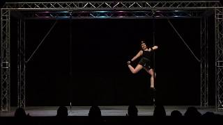 Ann O Mally - Solent Pole & Hoop Competition -  Beginners Pole Winner