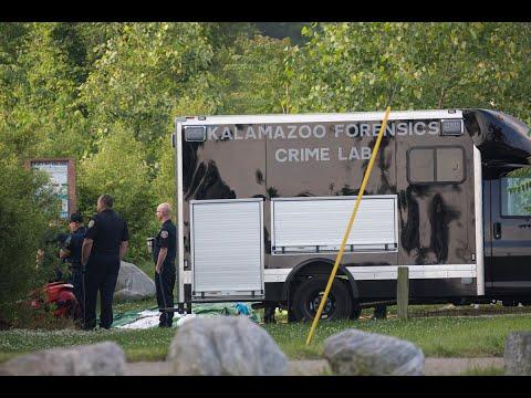 Vehicle intentionally drives into Kalamazoo River