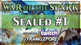 (MTG Arena) War of the Spark Sealed Deck #1 - 4/25/19