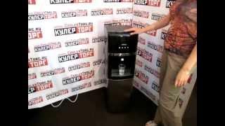 видео Купить Кулер для воды HotFrost V730CES Red