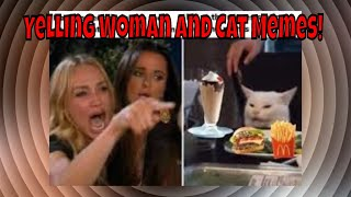 Woman Yelling At White Cat Memes! 😹