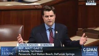 """Congressman Gaetz """"I Wasn"""