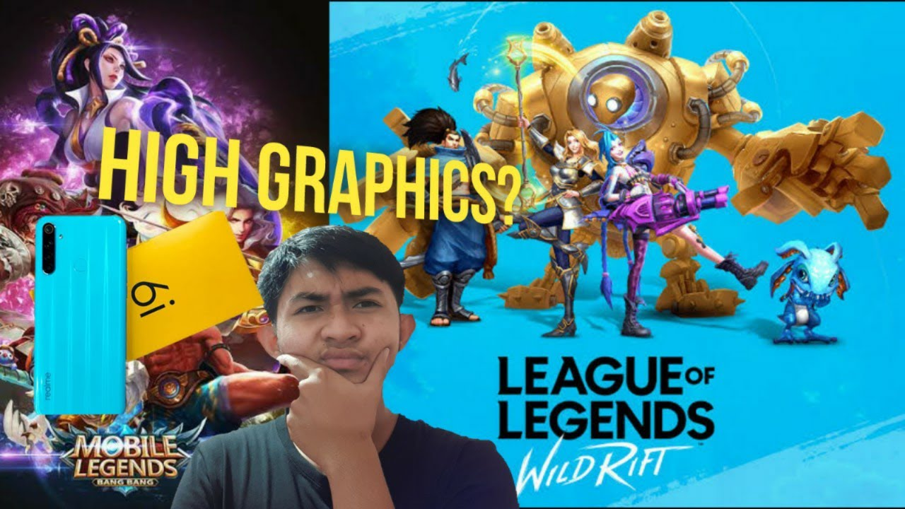 Realme 6i phone review | Testing it out on LOL:Wild Rift & Mobile Legends (HIGH GRAPHICS)