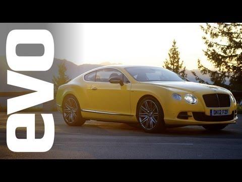 200mph in a Bentley Continental GT Speed | INSIDE evo