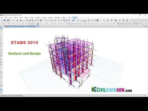 Etabs 2015 Tutorial 4 - Analysis and Design
