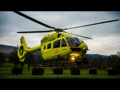 New helicopter for Yorkshire Air Ambulance