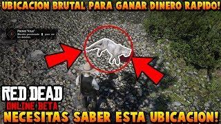NUEVA UBICACIÓN PARA GANAR MUCHO DINERO EN RED DEAD REDEMPTION 2 ONLINE!!