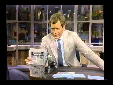 Late Night with David Letterman  May 3 1984  May 14th 1986