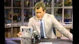 Late Night with David Letterman  May 3 1984 - May 14th 1986