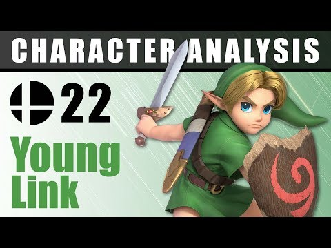 Character Analysis - 22 Young Link - Super Smash Bros. Ultimate