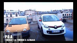 Nouvelle Renault Twingo 3 2014 : le match avec la Twingo 1 (2/2)