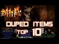 Duped Items Top 10 - Diablo 2