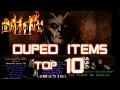 Duped Items Top 10 - Diablo 2