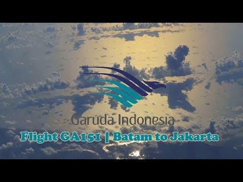 garuda indonesia flight ga151 batam to jakarta youtube rh youtube com