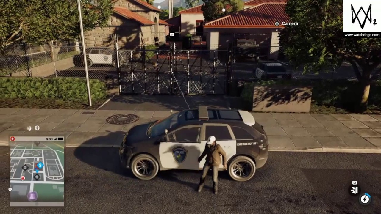Watch Dogs 2 - Chicago Police Car (Easter Egg) - YouTube
