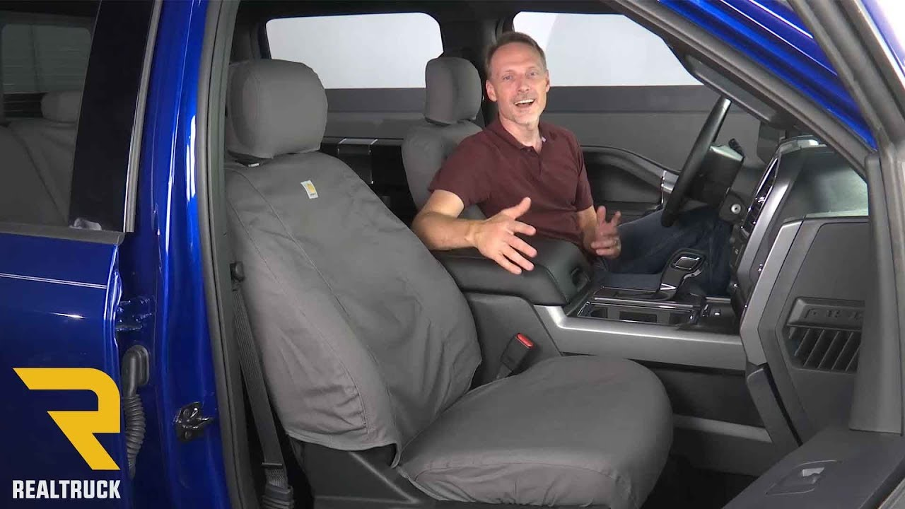 How To Install Covercraft Carhartt Seat Covers Youtube