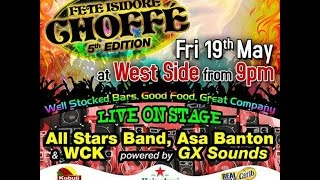 fete isidore choffe at west side all star band asa banton wck