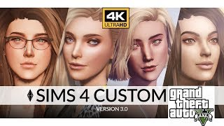 Video GTA V Sims 4 Mod 4K Lana & Samantha download MP3, 3GP, MP4, WEBM, AVI, FLV Oktober 2018