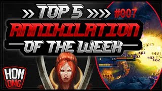 HoN | Top 5 OMG Annihilation of the week #25/09/2018