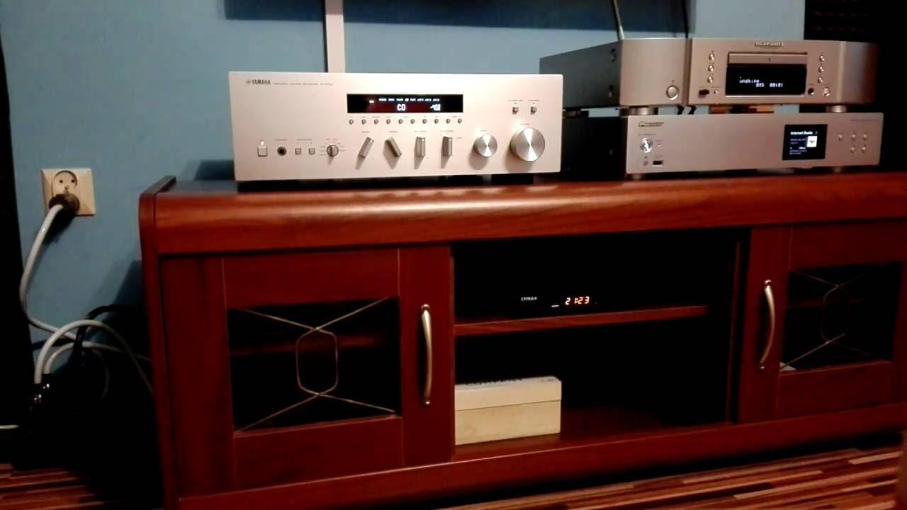 yamaha r s700 marantz cd6005 pioneer n 30 youtube. Black Bedroom Furniture Sets. Home Design Ideas
