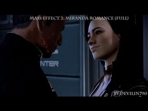 Mass Effect 2: Miranda renegade romance
