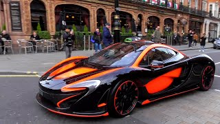 Chinese BILLIONAIRE son INSANE hypercars in Central London!