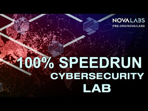 Cybersecurity Lab 100% (self-proclaimed)WR 13:09