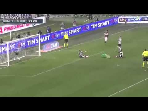 AS Roma vs Udinese 3-2 All Goals & Highlights HD 17/02/2014