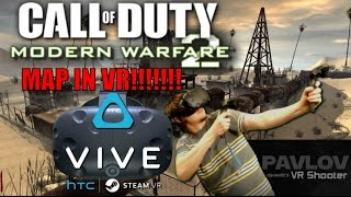 Call of Duty Rust Map In VR! | Pavlov VR gameplay | HTC VIVE