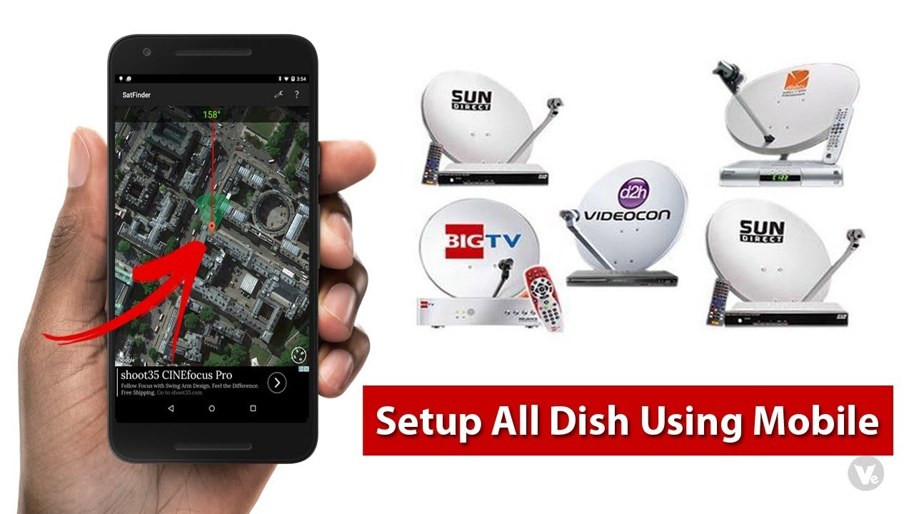 How to Setup All DTH Dish TV Using Android App 2019