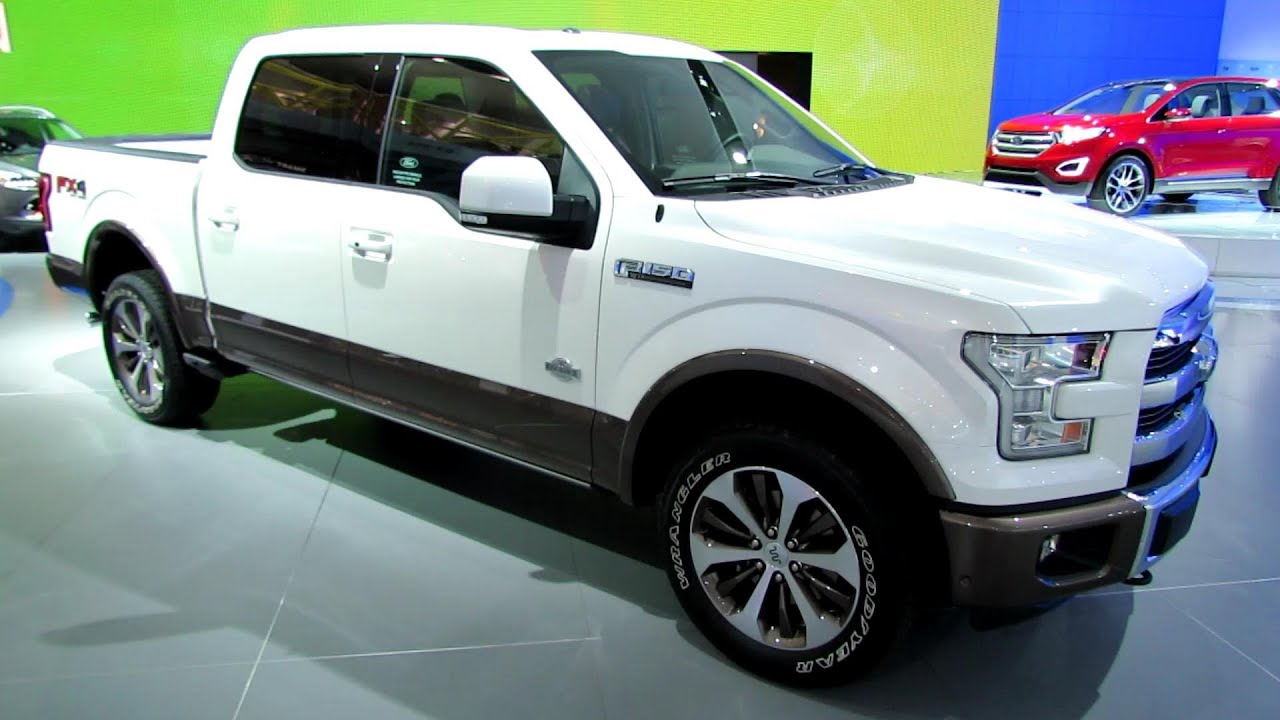 2015 ford f150 king ranch exterior walkaround debut at 2014 detroit auto show youtube