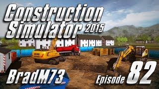 Construction Simulator 2015 GOLD EDITION - Episode 82 Part 4: Finishing the Garage!!