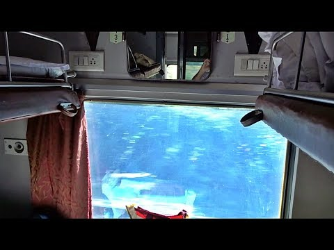 AC First Class View on 12377 Up Padatik Express - Indian Railway