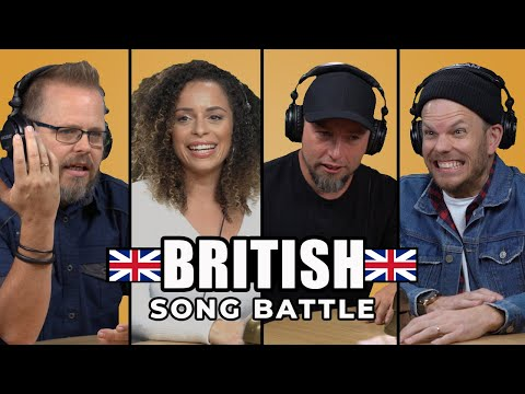 Can Blanca & Apollo LTD guess songs from across the pond? | UK Song Battle
