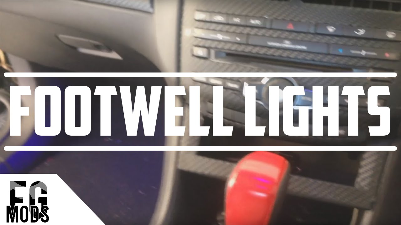 How To Footwell Lights Ford Falcon Fg Youtube